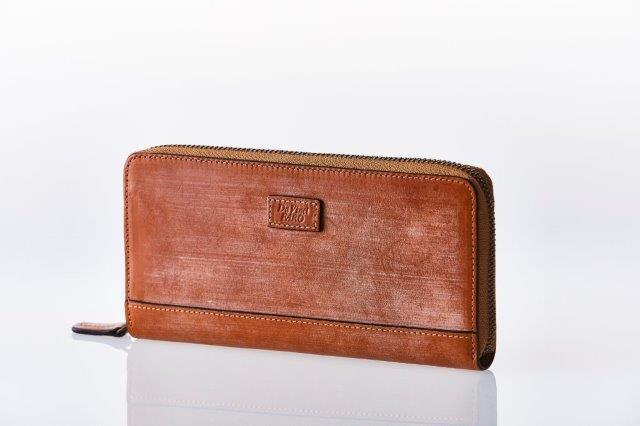 TUTTO BLOOM Round Zip Wallet